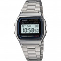CASIO A158W-1 Classic Digital Water Resistant Watch - A158WA-1CH