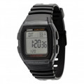 CASIO W96H-1 Multi-function Alarm with Snooze Calendar LED Light wAfterglow 50M WR - W96H-1BV