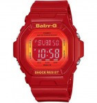 CASIO BG5600 Baby-G 100M Water Resistant , World Time, 5 Daily Alarms (1 with snooze) - BG5600SA-4