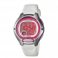 CASIO 50-Meter Water Resistant Digital Casual Sports Ladies Watch - LW-200-7A