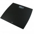 American Weigh Scales Bathroom Scale with Black Tempered Glass Platform - 330LPWBLK
