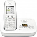 GIGASET DECT Single Handset Phone Caller-ID Digital Answering System - C595W