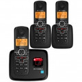 MOTOROLA DET 6.0 Enhanced Cordless Phone Caller ID Digital Answering System 3-Handsets - L703M