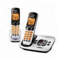 UNIDEN DECT6.0 Cordless Answering Speakerphone with Call-Waiting Caller ID, 2-Handset Bundle - D1780-2