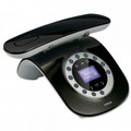 VTECH Dect 6.0 Retro Design Caller ID Speakerphone Black - LS6195