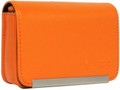 IMPECCA DCS86 Compact Leather Digital Camera Case - Orange - DCS86O