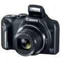 CANON PowerShot SX170 IS 16 Megapixel Digital Camera with 16x Zoom and 3.0-Inch LCD - Black - 8410B001