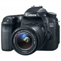 CANON EOS 70D 20.2 Megapixel Digital SLR with 3.0-Inch Touch LCD and 18-55mm Lens Kit - 8469B009