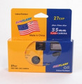 HQ SunFlash IndoorOutdoor One-Time Use 35mm Flash Camera 27-Exposures - HQF