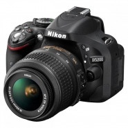 NIKON D5200 Digital SLR with AF-S DX NIKKOR 18-55mm f3.5-5.6G VR Lens Kit - D5200KI