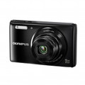 OLYMPUS 14-Megapixel 5X 26mm Wide Optical Zoom 2.7 Inch LCD - Black - VG165/BLK