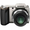 OLYMPUS 16 Megapixel Digital Camera with 21x Wide Optical Zoom and 3.0 Inch LCD - Silver - SP620/S