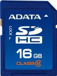 ADATA SDHC (High Capacity) 16GB Class 6 - ASDH16GCL6-B