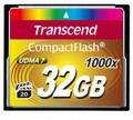 TRANSCEND Compact Flash 32GB UDMA7 1000x High-speed Memory Card - TS32GCF1000