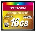 TRANSCEND Compact Flash 16GB UDMA7 1000x High-speed Memory Card - TS16GCF1000