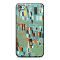 Klimt, Chic Hardshell iPhone 4 Case Teal - JV-iCC759TEL