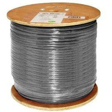 CAT6 CMR GRAY 1000 FT CABLE - CAT61000IW8-GY