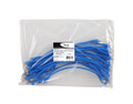 25 PK PATCH CORD,CAT 6,MOLDED,1ft BLUE - ICC-ICPCSD01BL