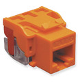 IC1078L6OR - Cat6 Jack - Orange - ICC-CAT6JACK-OR