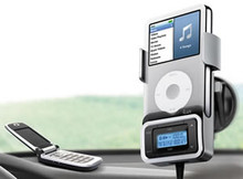 Bluetooth Car Kit w/ FM Transmitter - JV-I-730