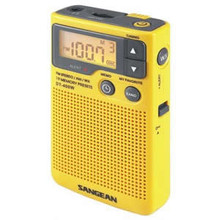 AM/FM Digital Weather Alert Pocket Radio - SAN-DT400W