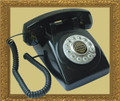 1950 Desk phone Black - PMT-1950-DESKPHONE-BK