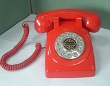 1950 Desk phone Red - PMT-1950-DESKPHONE-RD