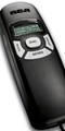 Trimline Caller ID Phone in Black - RCA-1104-1BKGA