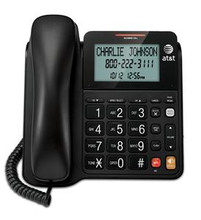 Corded Speakerphone with Display - BLACK - ATT-CL2940