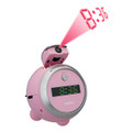 Pink Projection Clock with AM/FM Radio - JEN-JCR-222-PK