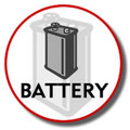 3.6V Battery for KX-TG2300's (hhr-p104) - BATT-104
