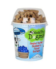 Peanut Butter Blueberry Barkers Dog Treats (6.2 oz CUP)