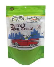 Detroit Dog Treats Peanut Butter Recipe Barkers ( 8 oz bag)