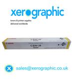 Canon C-EXV 29-Y Genuine Yellow Toner Cartridge 2802B002AB C5030 C5035 C5235 C5240