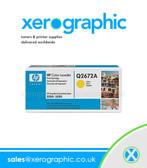 HP 3500 3550 Original Yellow Print Cartridge - Q2672A