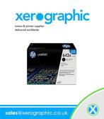 HP CB400A Genuine LaserJet Black Print Toner Cartridge CP4005A 642A