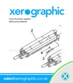 Genuine Developer KIT-HSG DEVE YMC Xerox 550,560,570 DC 700, 700i 604K86350 604K50032 604K50033 604K50031 604K86351
