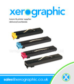 Xerox Genuine Full Set of Single Toner CMYK 006R01219 006R01220 006R01221 006R01222 DocuColor 240 242 250 252 260 WorkCentre 7655 7665 7675 7755 7765 7775