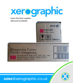 Xerox DocuColor 240 250 242 252 26 Twin Pack Genuine Magenta Toner Cartridge 006R01451