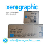 Xerox DocuColor DC 240 242 250 252 260 Genuine Twin Pack Cyan Toner Cartridge 006R01452