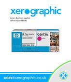HP 3500 3550 Magenta Color Print Cartridge - Q2673A