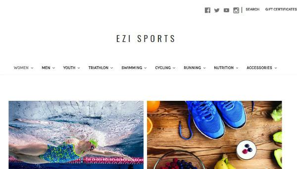 Ezi Sports - New Look Website - Coming Soon