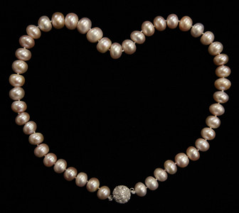 PINK PEARLS NECKLACE (PN07PK)