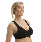 FULL FREEDOM COTTON BRA BLACK 40 (AC6057)