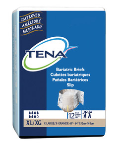 TENA BARIATRIC BRIEFS 3XL BY CASE (AC1203C