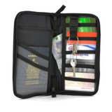 TRAVEL WALLET WITH ZIPPER (AC6193)