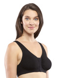 FULL FREEDOM COTTON BRA BLACK (AC6054)