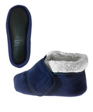 UNISEX BOOTIE SLIPPER WITH VELCRO XL