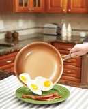 RED COPPER PAN 12 AS SEEN ON TV (AC5544)
