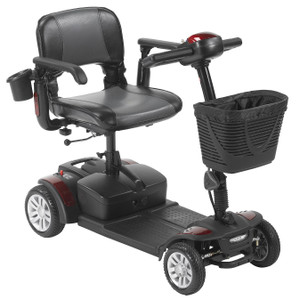 DRIVE MEDICAL SPITFIRE EX2 4 WHEEL TRAVEL SCOOTER WITH 12AH BATTERY AC5959 (AC5959)